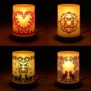 プラスチィック アロマ コードタイプ ランプ murooka akiko ◆室内照明/アロマランプ