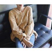 【初回送料無料】超可愛いファッションセーター☆キャメル/ホワイト2色◆xz-f36028-165【2016秋冬商品】