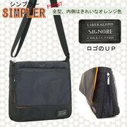 定番品!内側はきれいなオレンジ色のシンプルバッグシリーズ☆【SIMPLER-シンプラー-】