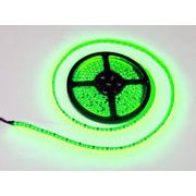 LEDテープ 黒ベース 5m 600連SMD 正面発光 12V 防水 グリーン 緑