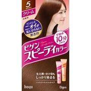 ビゲン スピーディカラー クリーム 5 ブラウン 【 ホーユー 】 【 ヘアカラー・白髪用 】