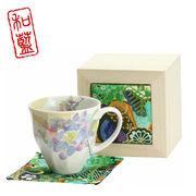 花みさき マグカップ アジサイ(ちりめん木箱)
