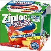 ジップロック スクリューロック (730ml) 【 旭化成ホームプロダクツ 】 【 保存容器 】