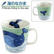 海のなかま くじらマグカップ