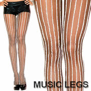 MusicLegs(ミュージックレッグ) ファーストライプ シアーストッキング/タイツ ML7099