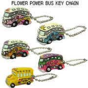 【FLOWER POWER BUS 】 フラワー パワー バス キーチェーン