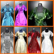 【クリックポスト対応】■即納■ドレス 同素材5分丈ボレロ