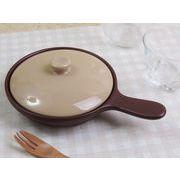 【目玉焼きや一人お鍋にも】 希少なサイズ感 オーブン対応耐熱の手つき鍋