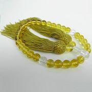 いざという時の必需品・黄水晶の数珠 イエロークォーツ 女性用