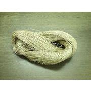 ジュート(麻糸) Lea7/2 麻番手7番2本撚り ビスコース加工 晒
