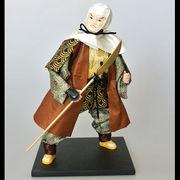 10インチ日本人形(弁慶/忍者 全2種)