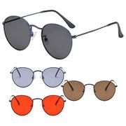 【TY3542】ボストン★メタル♪カラーレンズサングラス【4色展開♪】眼鏡/ユニセックス/メンズ