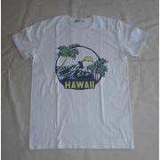 ハワイ サンセットパームヤシ プリントTシャツ