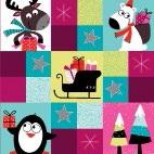 Maki  ペーパーナプキン クリスマス ペンギン・トナカイ・白クマ