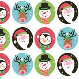 Daisy  ペーパーナプキン クリスマス サンタ・ペンギン・スノーマン