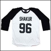 トゥパック・A・シャクール Tシャツ M 白 七分袖 2パック