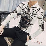 ワイシャツ♪ブラック/ホワイト2色展開◆【春夏新作】