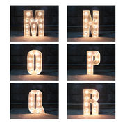 SIGN WITH LIGHT 「M~R」