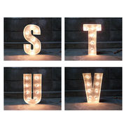 SIGN WITH LIGHT 「S~V」