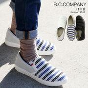 【B.C.COMPANY】スリッポン キラキラスニーカー ♪♪♪ 15348