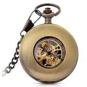 ■懐中時計■  機械式手巻ネックレス時計