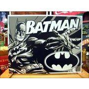 アメリカンブリキ看板 バットマン ツートンカラー