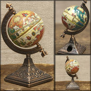 アンティークシャープナー 鉛筆けずり ♪ レトロ  地球儀 GLOBE  【B】♪