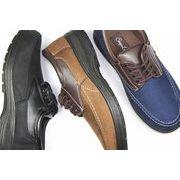 【メンズ】軽量カジュアルシューズ靴 ブラック・ブラウン・ネイビー