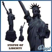 【掛率20-25%SALE】自由の女神(スタチューオブリバティ) - 2サイズ - 25cm / 20cm - マッドブラック