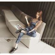 NEW☆新作アバレルゆったり シンプルスタイル ワンマイルウェア 連体式  パンツ  7apr-ladys-061