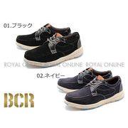 【BCR】 BC-414 軽量 スウェード調 カジュアルシューズ 全2色 メンズ