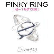 リング-o / 1-2062 ◆ Silver925 シルバー ピンキーリング ホヌ(かめ)