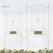 ディスタンゲジャルダンフェンス インテリアに/装飾に/ガーデニングに/寄せ植えに使えるブリキ製品