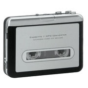 カセットテープ変換プレーヤー MP3変換プレーヤー 色:ホワイト
