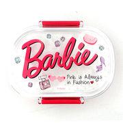 バービー ランチボックス ロゴ フューシャピンク