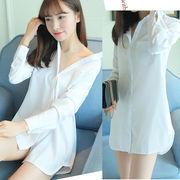 【即納】 白 シャツ コスプレ衣装【5832】