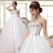 花嫁ブライドウェディングドレスロングドレス 【結婚式】【二次会】【パーティー】