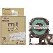 キングジム テプラPROテープドットブル/グレー字 SPJ18BB 00310872