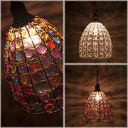 【Chandelier Verre Ceiling Lamp】2色展開★シャンデリア ベレ シーリングランプ ♪