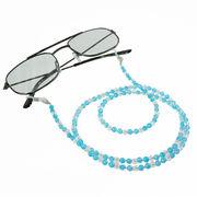 ブルーメノウ×水晶 メガネチェーン 眼鏡チェーン グラスコード