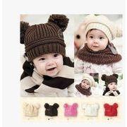 秋冬新作 赤ちゃん 幼児 ベビー帽子 ニット帽子