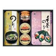 (食品)(海苔・佃煮詰合せ)永井海苔 海苔・茶漬・ほぐし・ カニ缶詰合せ OS-30