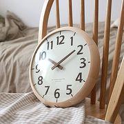 ハンドメイドモダンウッド 壁掛け時計