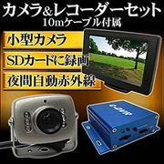 SOHO・家庭向け 屋内用防犯カメラ1台セット 小型監視 Broadwatch ブロードウォッチ