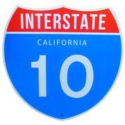 トラフィックサインボード CALFORNIA 10  (S)
