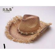 カジュアル★大人気ラフィアハット★ レディスファッション&帽子★草編み帽子★UVカット