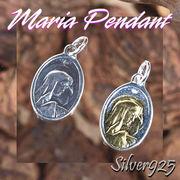 マリアペンダント-1 / 4008-4009--1825 ◆ Silver925 シルバー ペンダント マリア
