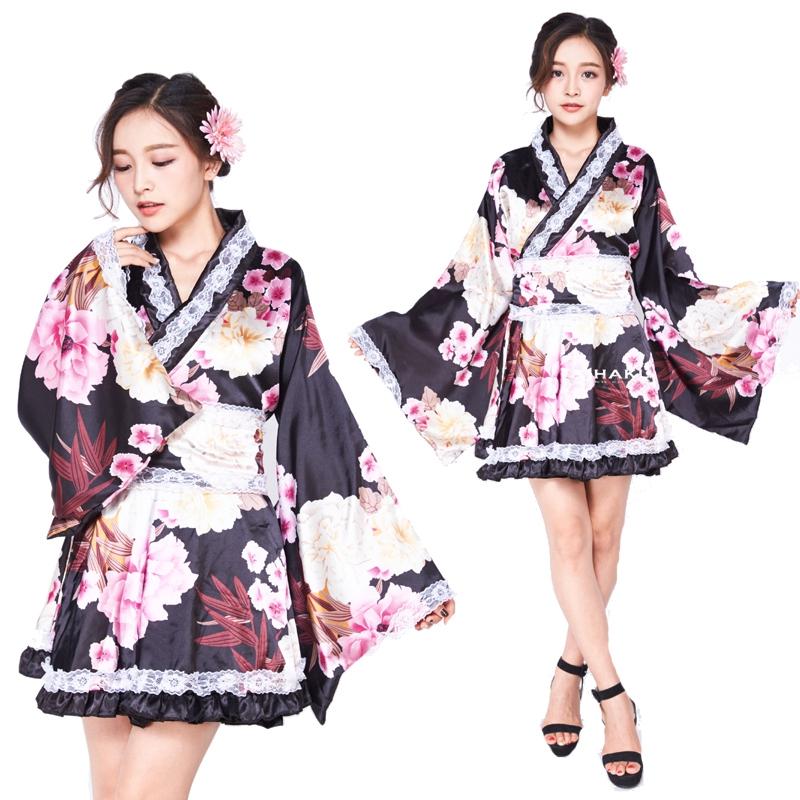 【即日出荷】白レース ワンピース 着物ドレス コスプレ衣装 【4098】