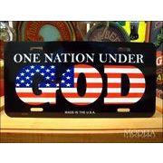 ライセンスプレート 神の下の統一国家