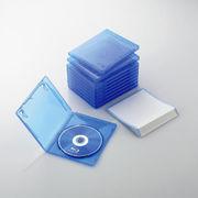 エレコム Blu-rayディスクケース(1枚収納タイプ) CCD-BLU110CBU